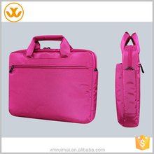 High quality polyester business laptop messenger women briefcase