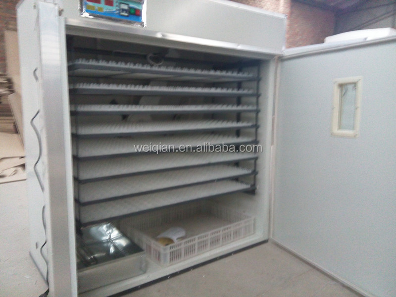 Poultry Egg Incubator With Water Cooling System 1848 Eggs