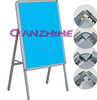 Advertising products round corner one sided advertisement rack