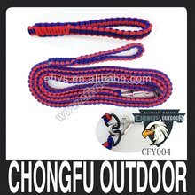 2016 new popular Christmas gift nylon dog pet pararcord leash wholesale