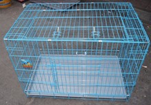 colorful dog/ rabbit/chicken cages made in PVC coated welded wire mesh