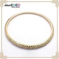 Fashion 18k gold bangle saudi aradia jewelry sex girls bangle