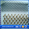 China supply galvanized Aluminum diamond mesh chain link fence