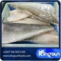 Haute qualité Frozen lumière salé Atlantic Cod