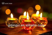 cheap wholesales acrylic crystal tealight candle holder wedding decoration