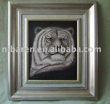 resin animal relief sculpture