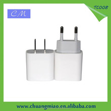 5V 1A ac adapter travel for iphone charger with EU US Plug