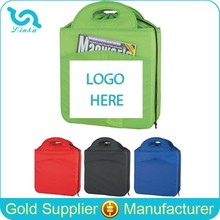Promotion 210D Polyester Insulated Drawstring Lunch Bag For Adults