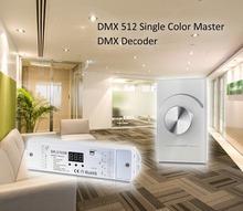 US standard DMX decoder for single color led controller