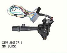 Auto Turn Signal Wiper Multi-Switch Combination Switch For GM BUICK 26067714
