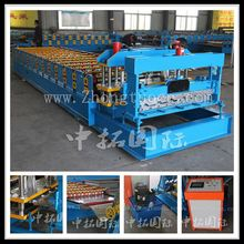 glazed steel sheet roof tile roll forming machine, glazed iron roofing sheet making machines