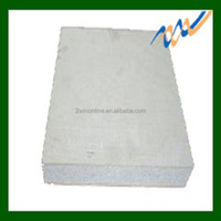 low thermal conductivity calcium silicate board / fire door core board / best fireproof performance