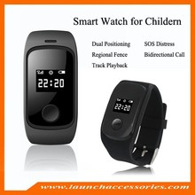 Gps tracker watch SOS button L22 personal / kids tracking watch GPS realtime tracking quad band talking
