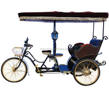 2015 sightseeing and passenger use electric 3 wheel pedicab rickshaw
