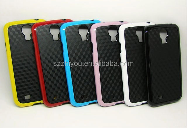 Made in China Mobile Phone Accessories For Samsung Galaxy S4 Cases,2 in 1 Tpu Cases For Samsung Galaxy S4 I9500