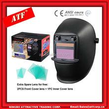 Flip up big viewing Auto darkening Welding helmet Fixed shade 10,11 can customization