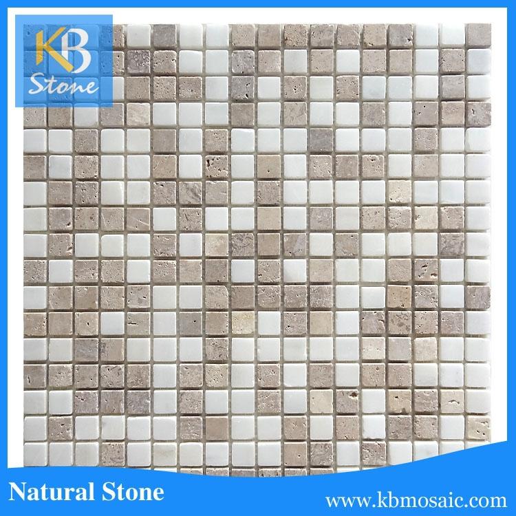 kitchen backsplash mosaic marble hand made stone art tiles