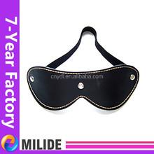 Genuine leather sexy eye mask, Sexy Party mask, Black sexy eye mask