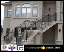 manufacturer outdoor wrought iron stair railing,wrought iron railing parts, used wrought iron railing