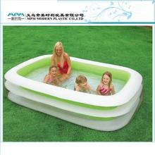 OEM adult inflatable swimming pools with baby together