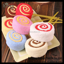 Fashion Valentine Lollipop Cake Gift Towel