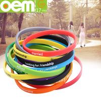 custom where to buy rubber band bracelet