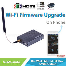 car audio installation frame av converter mirabox wifi