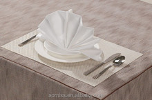 Table linen napkin for hotel and restaurant /High quality polyester banquet napkin wholesale