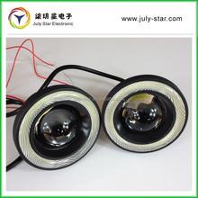 universal fit 3.5inch led auto fog light Cob angel eyes