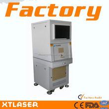 Small Size/metal/plastic/fiber/low price/ Laser Marking Machine / mini desktop cnc router