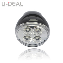 2014 new products low price led bicycle helmet light with universal bracket