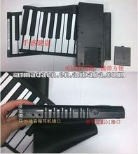 Musical instrument 61 /49 keys roll up silicone piano for promotion