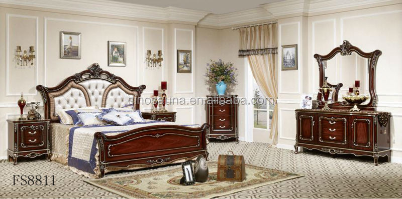 2015 Classical French Style White Bedroom Furniture Buy Black French