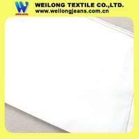 B2124-H china factory wholesale plain cotton white denim fabric