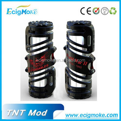 Popular product mechanical mod 26650 TNT Mod ecig mod made in shenzhen china
