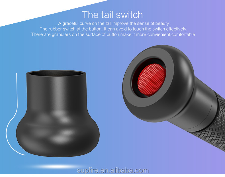 Newest to market baseball torch flashlight Y11