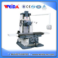 keyway milling machine X715, bed type universal milling machine with rotary head
