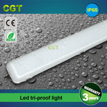 LED tri-proof lamp waterproof light fixtures LED tube use for factory 90cm 120cm 150cm with IP65 CE Rohs