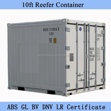 10ft Reefer Container Sale with PVC Curtain, LED Light