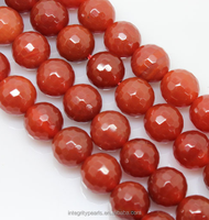 8mm natural red slices agate gemstones stones