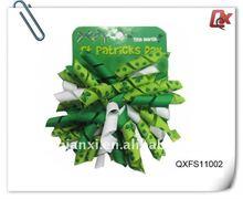 Saint Patrick's Day hair clip (QXFS11002)