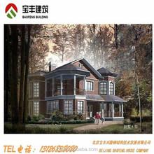 luxury light steel structure villa, movable villa, light villa