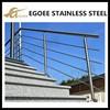 Price of exterior steel pipe stair handrail,stainless steel stair handrail design