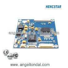 6563 amplias de la temperatura de anuncios para junta industriales del panel lcd, placa de circuito impreso