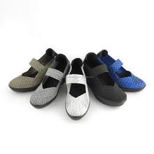 Fashion Style Casual & Fashion Shoes Wedge Eslatic Woven Shoe