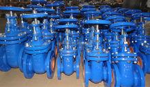 DIN3352 PN10/16 cast iron non rising stem GG25 gate valve