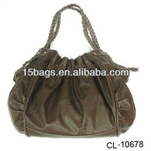 2012 fashion leather soft pu handbag