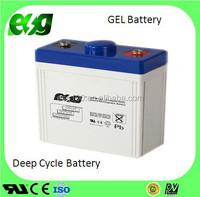 Rechargeable AGM GEL 2V150AH UPS battery valve regulated lead acid battery for home solar system
