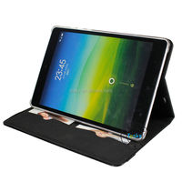 for xiaomi mipad case cover,premium folio stand tablet leather cover case for xiaomi mipad