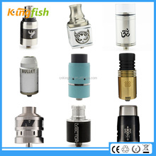 2015 hot models stainless steel rda atty cube with factory price